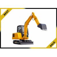 Buy cheap 25.2kw 4.2 Tonne Construction Equipment Excavator Easy Transporation Extendable Chassi product