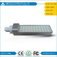 Buy cheap CE RoHs Approved PL SMD3014 LED G24 Lamp Light, 10W G24/E27 120 Degree View Angle from wholesalers