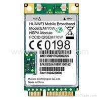Buy cheap Mini 3G Module, mini pci module Stamps Hole Form With WinCE, Linux Operating product