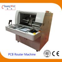 Buy cheap High Resolution CCD and Camera TAB PCB Separator Machine PCB Router product