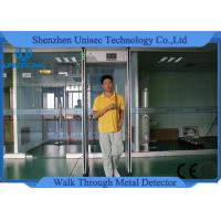 Buy cheap Adjusted 999 Sensitivity Walk Through Metal Detector Rental With Lcd Screen from wholesalers