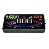 Buy cheap E300 Aftermarket Hud Speedometer 5.5 Inch , 9V ~ 16Vdc Multi Color Heads Up Speedometer from wholesalers
