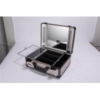 Buy cheap carry up Makeup Artist Studio Travel Outdoor cosmetic case With adjustable LED Lamp Bulb Strip 403 from wholesalers