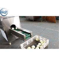 Buy cheap SUS304 Onion Processing Equipment Onion Skin Peeling Machine High Efficiency from wholesalers