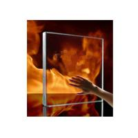 Buy cheap 10mm Safety Tempered / Insulated Fire Rated Glass For Glass Curtain Walls from wholesalers