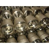 Buy cheap Custom Forged Stainless Steel Pipe Fittings Reducer / Cap Ends / Nipple / Coupling, Union from wholesalers