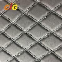 Buy cheap Embroidery PVC Leather with Foam Laminated by Rolls for Car Seat for Car Floor product