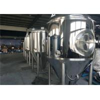 Buy cheap Stainless Steel Brewery Fermentation Tanks 1000l - 6000L Capacity OEM Available from wholesalers