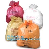 Buy cheap Clinical Waste Bags (Yellow), Heavy Duty Sacks , 17in x 25in (x25), Popular PE/PP biohazard eco bag,garbage bag,plastic from wholesalers