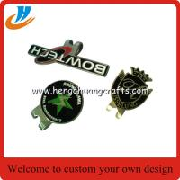 Buy cheap Wholesale logo golf ball marker hat clip and divot tool set,customized golf accessory products from wholesalers