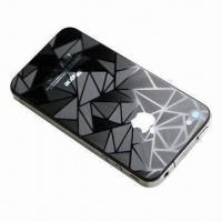 Buy cheap 3D Screen Protector for iPhone 4S, Static Cling Design from wholesalers