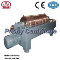 Buy cheap Solid Liquid Separation Horizontal Automatic Decanter Centrifuge Manure Sludge product