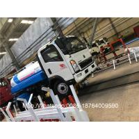 Buy cheap 4X2 6000 Liter 120HP Water Tank Truck Sinotruk Light Duty Euro III 7.00R16 Tires from wholesalers