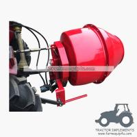 Buy cheap 5HCM - 3 point hitch mounted hydraulic motor driven Cement Mixer Concrete mixer from wholesalers