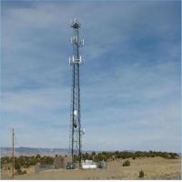 Buy cheap 30m Triangular lattice telecommunication steel tower with design wind speed 150kmph from wholesalers