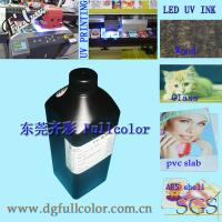 Buy cheap White Printing Inks, Flatbed Printer Refill Led Curable Ink For Epson DX5 DX6 DX7 Inkjet Printhead from wholesalers