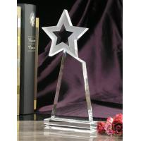 Buy cheap 2015 star crystal plaques trophy for annual award from wholesalers