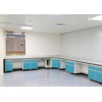 Buy cheap Floor Mounted Dental Lab Workbench , 90kg Max Loading Science Lab Furniture from wholesalers
