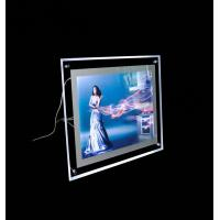 Buy cheap Snap Frame Slim Crystal LED Light Box , Advertising Photo Frame With LED Light from wholesalers