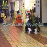 Buy cheap Hansel High quality hot selling plush animal rides zippy pet rides for shopping mall center from wholesalers