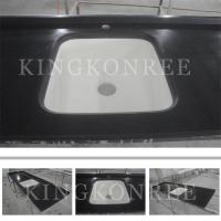 Buy cheap Square man-made solid surface kitchen countertop and sink product