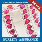 Buy cheap Heart Shape Rhinestone Trimming Chain,crystal trimming wholesale,crystal rhinestone trimming chain from wholesalers