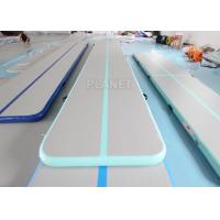 Buy cheap Custom DWF PVC 6m 8m 10m Inflatable Gym Mat from wholesalers