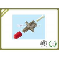 Buy cheap Metal Fiber Optic ST To LC Fiber Converter Adapter Simplex , ST To LC Fiber Connector from wholesalers