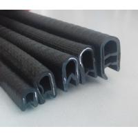 Buy cheap flexible pvc u channel edge trim sealing strip for sheet metal glass car pinch weld from wholesalers