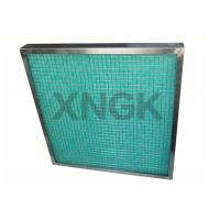 Buy cheap Fiberglass Painting Spray Booth Filter High Temperature SUS Frame 80-90% Arrestance from wholesalers