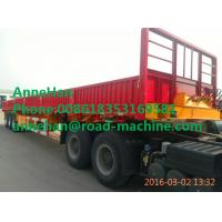 Buy cheap SHMC 3 AXLES DOUBLE FUNCTION CONTAINER SEMI TRAILER 30000KG LEG Q235 Steel Material from wholesalers