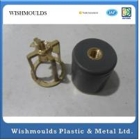 Buy cheap Plastic Overmolding Injection Molding into Brass Stainless Steel Metal Parts Production product