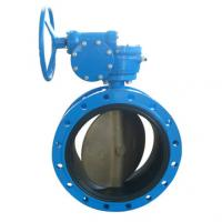 Buy cheap Flanged EPDM/PTFE Lined Butterfly Valve from wholesalers