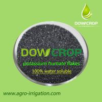 Buy cheap HOT SALE DOWCROP HIGH QUALITY  POTASSIUM HUMATE FLAKES BLACK FLAKES 100% WATER SOLUBLE FERTILIZER ORGANIC FERTILIZER from wholesalers