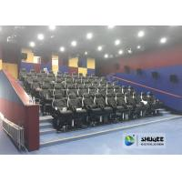 Buy cheap Fast Return 5D Theater With Genuine Leather Electric 5D Seats In Business Center product