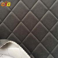 Buy cheap Soft Car Seat Upholstery Fabric With Sponge / Auto Interior Fabric 30-50m/Roll from wholesalers