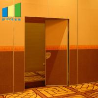 Buy cheap Movable Partition System Acoustic Sliding Walls With Door For Convention Hall from wholesalers