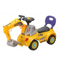 Buy cheap 40  Push Kids Ride On Toys , Toddler Construction Sliding Car With Music from wholesalers