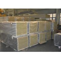 Buy cheap Rock wool board sealed with hidden screw sandwich panel for warehouse from wholesalers