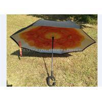 Easy Carry Reversible Rain Umbrella , As Seen On Tv Umbrella That Opens Backwards