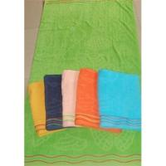 Buy cheap pure cotton jacquard velvet beach towel from wholesalers