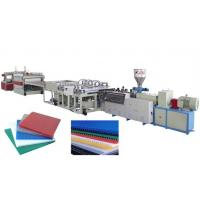 Buy cheap PP/PE hollow sheet extrusion line product