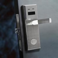 Buy cheap ANSI Mortise Rfid Hotel Door Locks RFID MIFARE Technology AA Battery from wholesalers