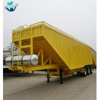 Buy cheap Luyi brand 3 axle Grain Dump Tipper Truck grain trailers for sale from wholesalers