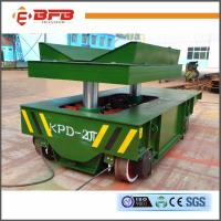 Buy cheap V-block Cylinder Transfer Rail Vehicle With Heavy Load Bearing from wholesalers