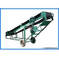 Buy cheap Heavy Duty Loading Belt Conveyor ,  Green Portable Conveyor Belt For Stairs from wholesalers