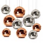 Buy cheap 240V Gold Rose / Golden Chrome Color E27 Mirror Glass Pendant Light from wholesalers