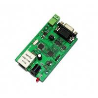 Buy cheap RS232 RS485 serial to TCP/IP ethernet server module converter from wholesalers