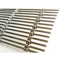 Buy cheap Cable Rod Woven Wire Screen Mesh , Stainless Steel Architectural Mesh Panels from wholesalers