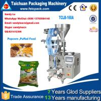 Buy cheap Puffed Food& popcorn Vertical Packaging Machine,popcorn packing machine from wholesalers